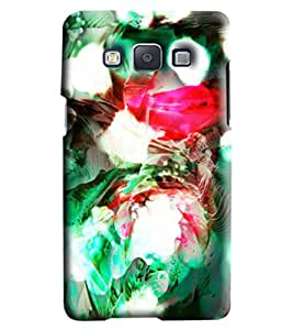 Blue Throat Blow Paint Printed Designer Back Cover/Case For Samsung Galaxy A7