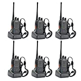 BaoFeng BF-888S Two Way Radio (Pack of 6 with Customized Package)