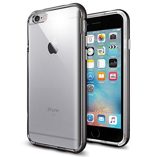 Spigen iPhone6s ケース / iPhone6 ケース, ネオ・ハイブリッド EX [ 二重構造 スリム フィット ] アイフォン6s / 6 用 (iPhone6s, ガンメタルSGP11816)