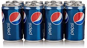 Pepsi Mini-Cans (8 Count, 7.5 Fl Oz Each)