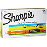 Sharpie Accent Liquid Pen-Style Highlighters, 12 Fluorescent Orange Highlighters (1754466)