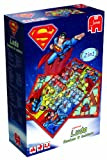 Superman 2in1 Double-Sided Board Game - Snakes & Ladders and Ludo Games