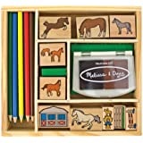 Melissa & Doug Horse Stable Stamp Set