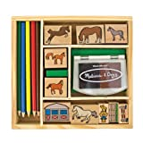 Acquista Horses Stamp Set