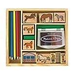 Melissa & Doug Horse Stable Stamp Set