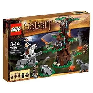 Lego The Hobbit - 79002 - Jeu de Construction - L'attaque des Ouargues