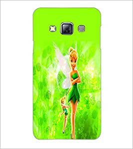 PrintDhaba Cute Doll D-2111 Back Case Cover for SAMSUNG GALAXY A3 (Multi-Coloured)