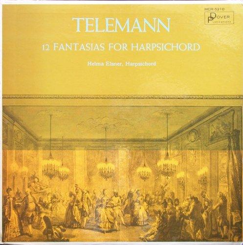 Telemann: 12 Fantasias For Harpsichord