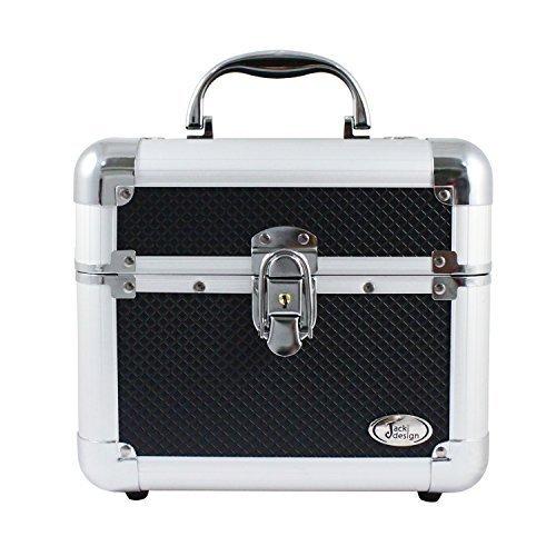 jacki-design-aluminum-makeup-train-case-w-expandable-trays-bhj14132-black-by-jacki-design