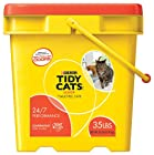 GOLDEN CAT COMPANY 702013 Tidy Cats Long Lasting Odor Control Scoop Pail, 35-Pound