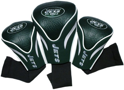 NFL New York Jets 3 Pack Contour Fit Headcover at Amazon.com