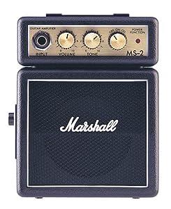Marshall - Amplificateurs guitares électriques MS2 - Ampli 2W - Black