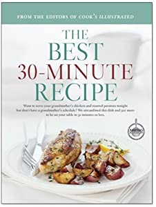 "Cover of ""The Best 30-Minute Recipe"""