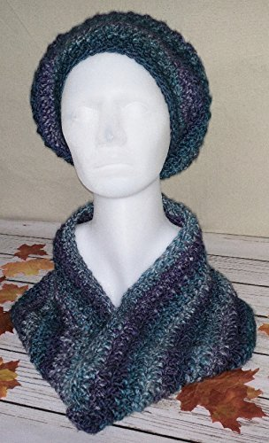 seismic-striped-slouch-hat-with-matching-cowl-shake-up-your-outfits-with-these-beautiful-blue-and-pu