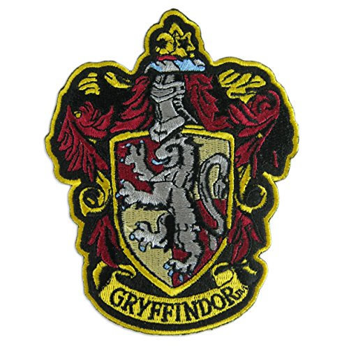 Harry Potter House of Gryffindor Hogwarts Crest Patch 4 3/4