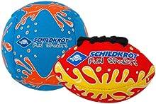 Schildkroet Funsports 970182 - Juego de pelotas pequeñas de neopreno, multicolor, tamaño M