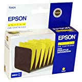 Epson T0424 Original Printer Ink Cartridge - For use with Epson Stylus C82 CX5200 CX5400 - Yellow