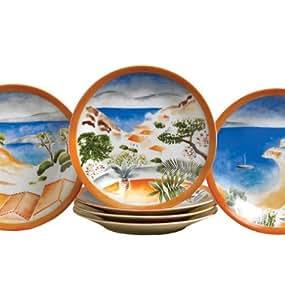 Canape plates les plages de st tropez by for Philippe deshoulieres canape plates
