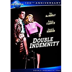 Double Indemnity [DVD + Digital Copy] (Universal's 100th Anniversary)
