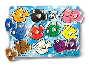 Fish Colors Mix N Match Peg Puzzle