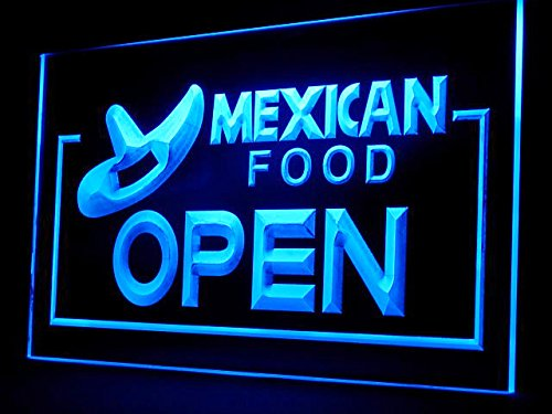 Mexican Food Restaurant Open Led Light Sign (Mexican Restaurant Lights compare prices)