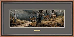 Terry Redlin - Leaving the Sanctuary Framed Open Edition