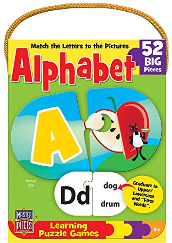 MasterPieces / Mini Learning Games Alphabet 52-Piece Matching Puzzle