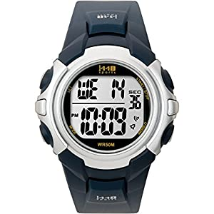 Timex Men's T5J571 1440 Sport Watch with Blue Band from Timex