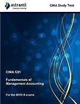 CIMA C01 Fundamentals of Management Accounting: Study Text