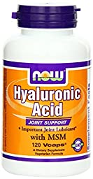 NOW Foods Hyaluronic Acid and MSM - 240 ct