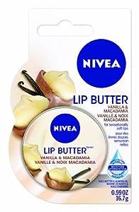 NIVEA Lip Care Lip Butter - Vanilla & Macadamia 16.7g