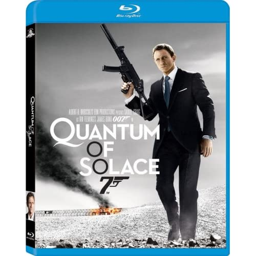 007 Quantum of Solace Blu-Ray James Bond