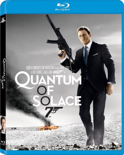 Cover art for  Quantum of Solace [Blu-ray]