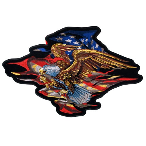 Hot Leathers American Eagle Patch (6
