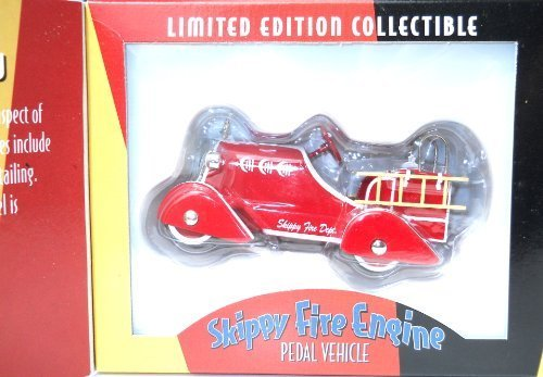 1930s-skippy-fire-engine-pedal-car-replica-limited-edition-collectible-by-onex
