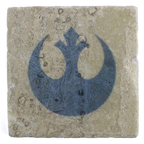 Star Wars: Rebel Alliance-Sottobicchieri marmo, colore: crema