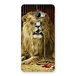 Gorgeous Dude Lion Multicolor Back Case Cover for LeTv Le Max
