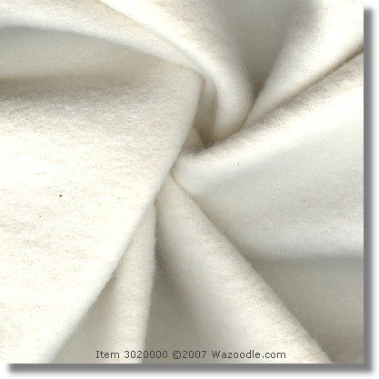 Proeco Bamboo Lining Fleece - Natural (Made In Usa, Sold By The Yard)