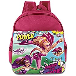 Kids Barbie In Princess Power School Backpack Cute Baby Boys Girls School Bag Pink