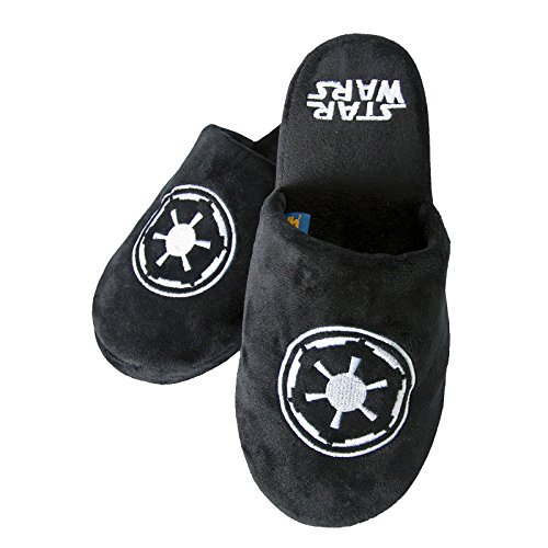 STAR WARS Empire Logo Pantofole Nero nero 46-48