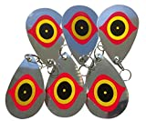 Bird Blinder Bird Repellent Diverter Discs - Pest Deterrent (Set of 6)