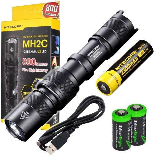 Nitecore MH2C CREE XM-L U2 LED USB Rechargeable 800 Lumen ...