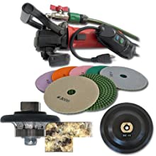 SECCO 38WVPOLSET 3/8-Inch Radius Wet Polisher Kit