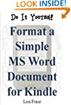 Do It Yourself: Format a Simple MS Wo...