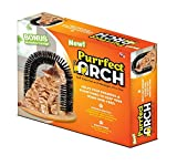 Purrfect Arch Self Groomer with Bag of Catnip, Cat Grooming Arch