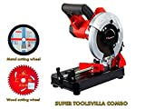 "7"" KPT cutting machine combo with 7"" blades for wood and metal cutting FROM TOOLSVILLA"