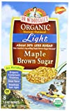 51lX1AJF1jL. SL160  Dr. McDougalls Right Foods Organic Instant Oatmeal, Light Maple Brown Sugar, 1.3 Ounce Packets, 8 Count Boxes (Pack of 6)