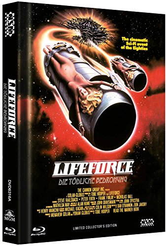 Lifeforce - uncut (Blu-Ray+DVD) auf 666 limitiertes Mediabook Cover A [Limited Collector's Edition]