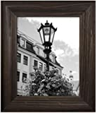 MCS 47611 Wide Wood Frame with Burnt Oak Finish, 11 by 14-Inch