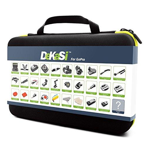 DeKaSi-Accessori-Kit-per-Gopro-HERO-543-Black-Silver-Session-55-IN-1